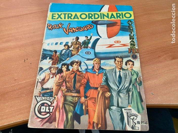 EXTRAORDINARIO ROCK VANGUARD AVENTURAS FBI MENDOZA COLT (ORIGINAL ROLLAN) (COIB176) (Tebeos y Comics - Rollán - Rock Vanguard)