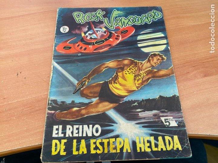 ROCK VANGUARD Nº 7 EL REINO DE LA ESTEPA HELADA (ORIGINAL ROLLAN) (COIB176) (Tebeos y Comics - Rollán - Rock Vanguard)