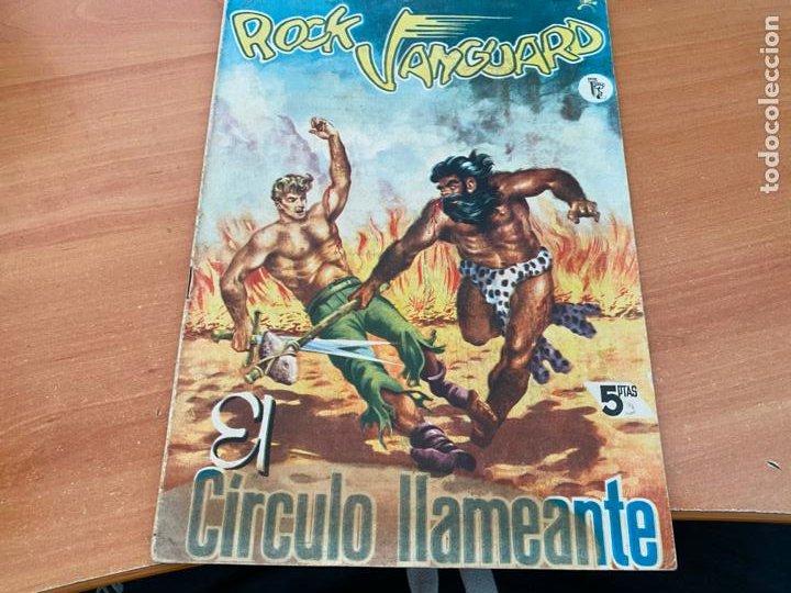 ROCK VANGUARD Nº 3 CIRCULO LLAMEANTE (ORIGINAL ROLLAN) (COIB176) (Tebeos y Comics - Rollán - Rock Vanguard)