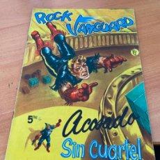 Tebeos: ROCK VANGUARD Nº 6 ACOSADO SIN CUARTEL (ORIGINAL ROLLAN) (COIB176). Lote 266128533