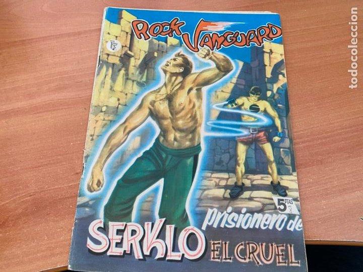 ROCK VANGUARD Nº 8 PRISIONERO DE SERKLO EL CRUEL (ORIGINAL ROLLAN) (COIB176) (Tebeos y Comics - Rollán - Rock Vanguard)