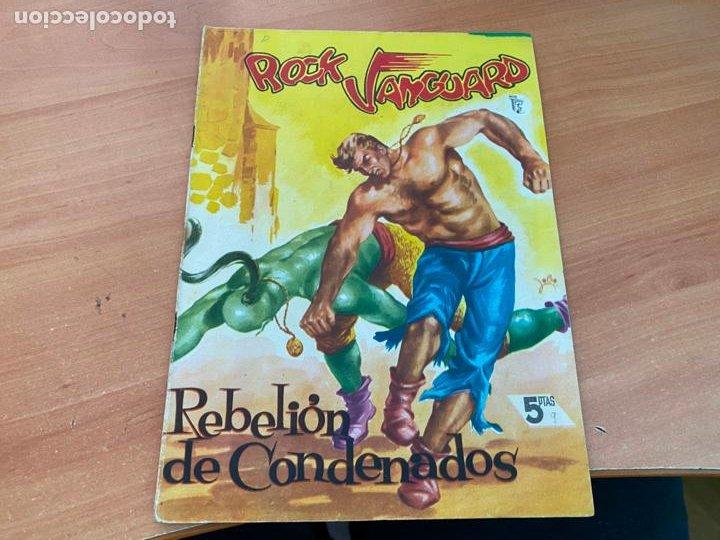 ROCK VANGUARD Nº 9 REBELION DE CONDENADOS (ORIGINAL ROLLAN) (COIB176) (Tebeos y Comics - Rollán - Rock Vanguard)