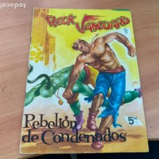 Tebeos: ROCK VANGUARD Nº 9 REBELION DE CONDENADOS (ORIGINAL ROLLAN) (COIB176). Lote 266129908
