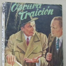 Tebeos: OSCURA TRAICION. ANTHONY CUNILLER. COLECCION FBI, Nº 232. EDITORIAL ROLLAN, 1954. Lote 266394098