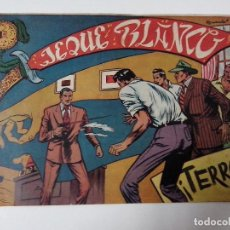 BDs: TEBEO JEQUE BLANCO Nº 27 TERROR. Lote 267292659