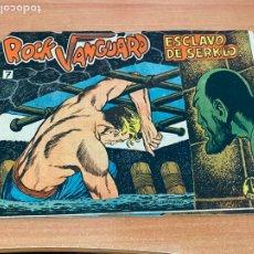 Tebeos: ROCK VANGUARD Nº 7 ESCLAVO DE SERKLO (ORIGINAL ROLLAN) (COIB61). Lote 267667969