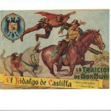 Tebeos: ARCHIVO * EL HIDALGO DE CASTILLA * Nº 1 * ED. ROLLAN 1959 * A. ARNAU DIBUJOS ORIGINAL *. Lote 267832229