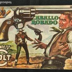 Tebeos: MENDOZA COLT - Nº 71 - CABALLO ROBADO - ORIGINAL - ROLLAN. Lote 268188249