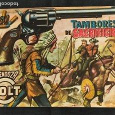 Tebeos: MENDOZA COLT - Nº 73 - TAMBORES DE SACRIFICIO - ORIGINAL - ROLLAN. Lote 268198839
