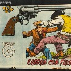 Tebeos: MENDOZA COLT - Nº 80 - LADRON CON FALDAS - ORIGINAL - ROLLAN. Lote 268251234