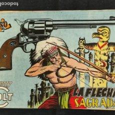 Tebeos: MENDOZA COLT - Nº 81 - LA FLECHA SAGRADA - ORIGINAL - ROLLAN. Lote 268252669