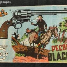 Tebeos: MENDOZA COLT - Nº 82 - PECOS BLACK - ORIGINAL - ROLLAN. Lote 268252724