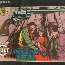 Tebeos: MENDOZA COLT - Nº 85 - ENCRUCIJADA FATAL - ORIGINAL - ROLLAN. Lote 268252864