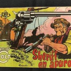 Tebeos: MENDOZA COLT - Nº 86 - SHERIFF EN APUROS - ORIGINAL - ROLLAN. Lote 268253184