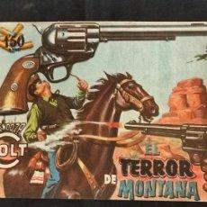Tebeos: MENDOZA COLT - Nº 89 - EL TERROR DE MONTANA - ORIGINAL - ROLLAN. Lote 268253484
