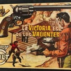 Tebeos: MENDOZA COLT - Nº 97 - LA VICTORIA ES DE LOS VALIENTES - ORIGINAL - ROLLAN. Lote 268254209