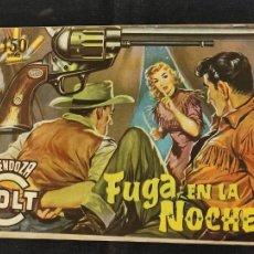 BDs: MENDOZA COLT - Nº 99 - FUGA EN LA NOCHE - ORIGINAL - ROLLAN. Lote 268254349