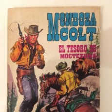 Tebeos: MENDOZA COLT - EL TESORO DE MONTEZUMA Nº 3 (ROLLAN 1974). Lote 268784709