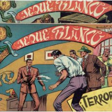Tebeos: ARCHIVO *JEQUE BLANCO * Nº 5, 29, ORIGINAL * EDITORIAL ROLLAN 1952 *. Lote 269474233
