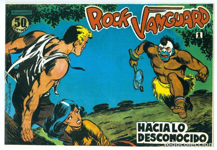 ROLLAN. ROCK VANGUARD. 1 (Tebeos y Comics - Rollán - Rock Vanguard)