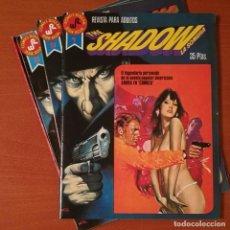 Tebeos: THE SHADOW LA SOMBRA SERIE ROJA EDITORIAL ROLLÁN COMPLETA 4 Nº.. Lote 273645633