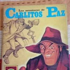 Tebeos: CARLITOS PAZ Nº8.(HISTORIAS GRÁFICAS PARA JÓVENES. SERIE ROJA Nº19):LAS JOYAS DEL EMIR. Lote 274332628