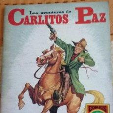 Tebeos: CARLITOS PAZ Nº7.(HISTORIAS GRÁFICAS PARA JÓVENES. SERIE ROJA Nº18): LA CAJITA DE MUSICA. Lote 274333123