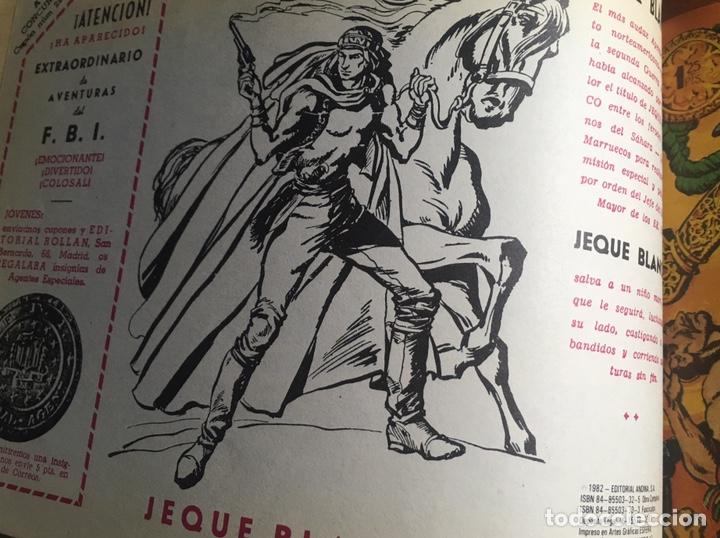 Tebeos: EL JEQUE BLANCO 1 TOMÓ 32 ejemplares !importante ver descripción! - Foto 2 - 276195403