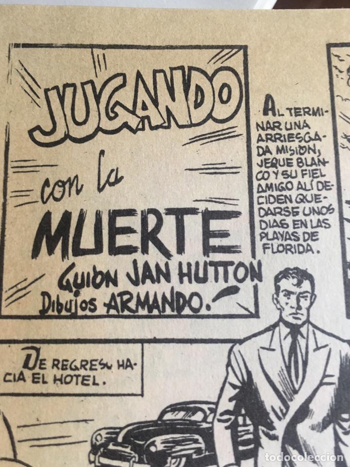 Tebeos: EL JEQUE BLANCO 1 TOMÓ 32 ejemplares !importante ver descripción! - Foto 6 - 276195403