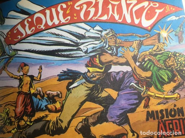 EL JEQUE BLANCO 1 TOMÓ 32 EJEMPLARES !IMPORTANTE VER DESCRIPCIÓN! (Tebeos y Comics - Rollán - Jeque Blanco)