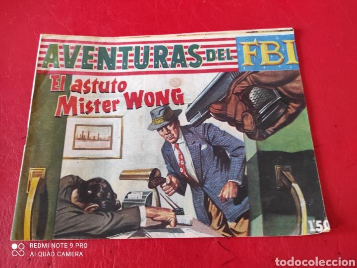 AVENTURAS DEL FBI ORIGINAL N⁰238 ROLLÁN AÑO 1960 EN BUEN ESTADO (Tebeos y Comics - Rollán - FBI)