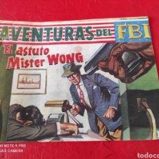 Tebeos: AVENTURAS DEL FBI ORIGINAL N⁰238 ROLLÁN AÑO 1960 EN BUEN ESTADO. Lote 276934503