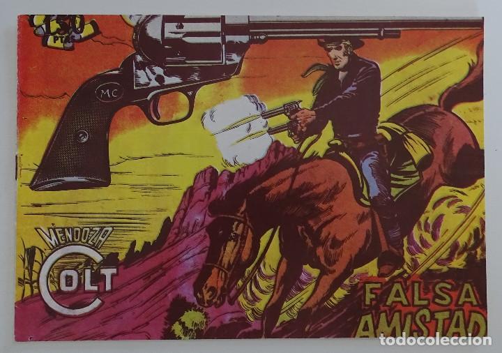 """COMIC """"FALSA AMISTAD"""" - MENDOZA COLT (Tebeos y Comics - Rollán - Mendoza Colt)"""