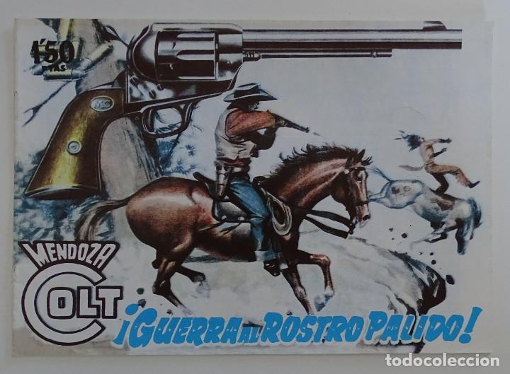 "COMIC ""GUERRA AL ROSTRO PÁLIDO"" - MENDOZA COLT (Tebeos y Comics - Rollán - Mendoza Colt)"