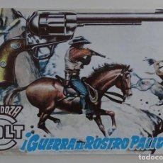 Tebeos: GUERRA AL ROSTRO PÁLIDO - MENDOZA COLT. Lote 277056668