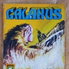 Tebeos: GALAXUS - EDITORIAL ROLLÁN / NÚMERO 3 (EVASIÓN). Lote 280278943