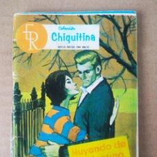 Tebeos: COLECCIÓN CHIQUITINA N°9: HUYENDO DE SU DESTINO (ROLLÁN, 1964). NOVELAS GRÁFICAS PARA ADULTOS.. Lote 280722233