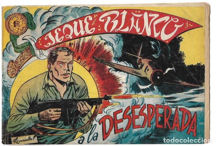 EL JEQUE BLANCO NUM 47 - ORIGINAL (Tebeos y Comics - Rollán - Jeque Blanco)