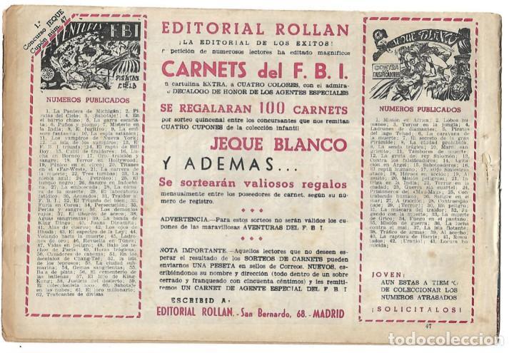 Tebeos: EL JEQUE BLANCO NUM 47 - ORIGINAL - Foto 2 - 281905208