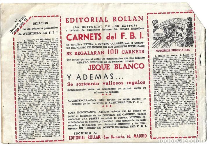 Tebeos: EL JEQUE BLANCO NUM 65 - ORIGINAL - Foto 2 - 281905348