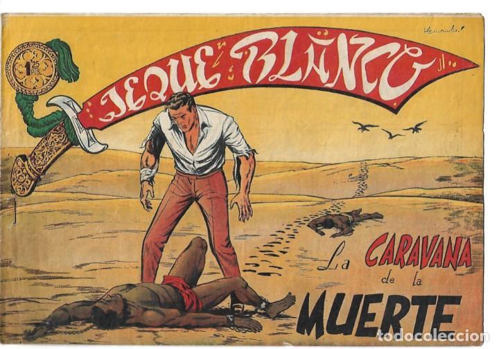 EL JEQUE BLANCO NUM 104 - ORIGINAL (Tebeos y Comics - Rollán - Jeque Blanco)