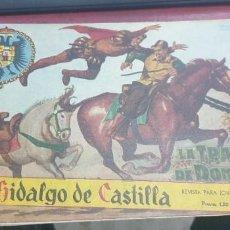 Tebeos: EL HIDALGO DE CASTILLA NUMERO 1. Lote 284027118