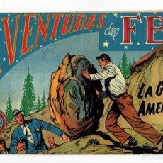 Tebeos: AVENTURAS DEL FBI Nº 130 - LA GRAN AMENAZA - ROLLÁN 1951 - ORIGINAL. Lote 284058423