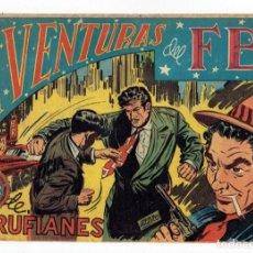 Tebeos: AVENTURAS DEL FBI Nº 150 - AGENCIA DE RUFIANES - ROLLÁN 1951 - ORIGINAL. Lote 284058453