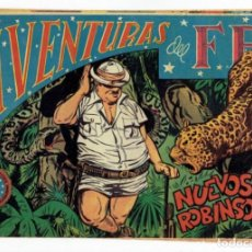 Tebeos: AVENTURAS DEL FBI Nº 151 - NUEVOS ROBINSONES - ROLLÁN 1951 - ORIGINAL. Lote 284058503