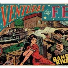 Tebeos: AVENTURAS DEL FBI Nº 156 - BANDAS RIVALES - ROLLÁN 1951 - ORIGINAL ''BUEN ESTADO''. Lote 284058523