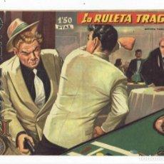 Tebeos: AVENTURAS DEL FBI Nº 185 - LA RULETA TRÁGICA - ROLLÁN 1958 - ORIGINAL. Lote 284075088