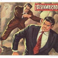 Tebeos: AVENTURAS DEL FBI Nº 188 - ¡ DESENMASCARADO ! - ROLLÁN 1958 - ORIGINAL. Lote 284075548