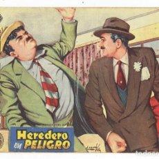 Tebeos: AVENTURAS DEL FBI Nº 191 -HEREDERO EN PELIGRO - ROLLÁN 1958 - ORIGINAL. Lote 284076198