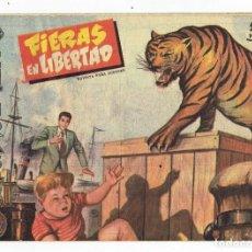 Tebeos: AVENTURAS DEL FBI Nº 192 -TIERRAS EN LIBERTAD - ROLLÁN 1958 - ORIGINAL. Lote 284078198